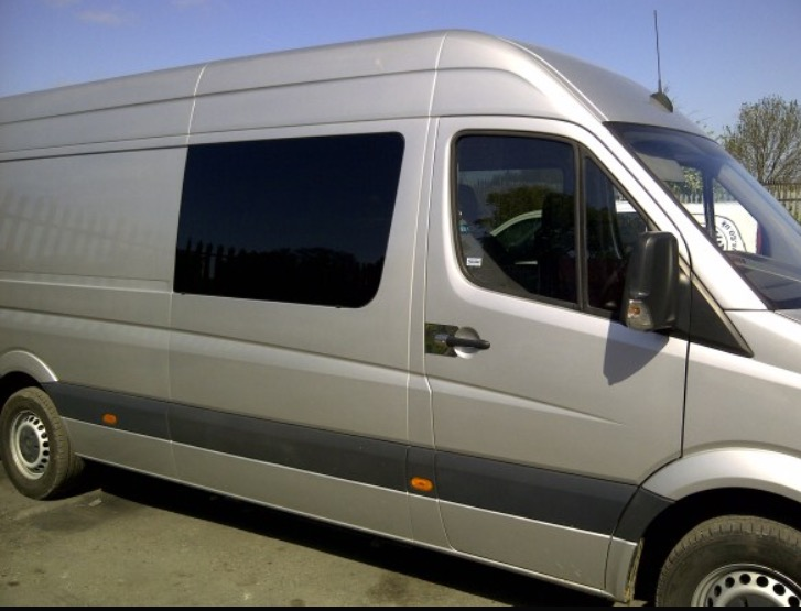 Van conversion window fitting specialists for Mercedes benz sprinter rv service locations