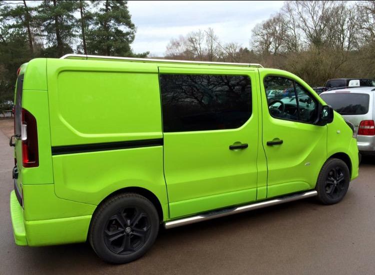 custom vivaro vans
